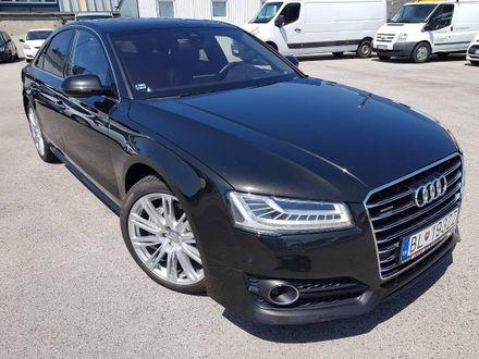 Audi A8 3.0 TDI V6 DPF clean diesel quattro tiptronic